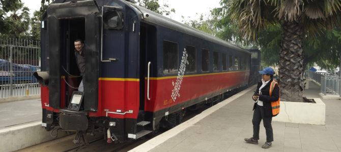 Phnom Penh – pociąg z lotniska