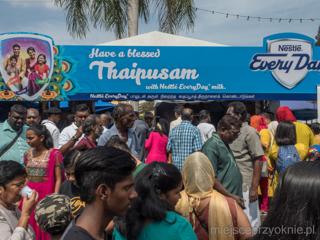 W czasie festiwalu sprzedawane są hektolitry mleka