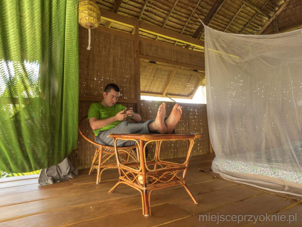 Wnętrze bungalowu