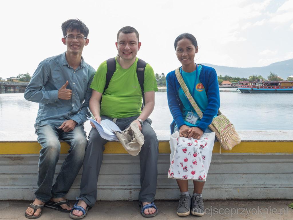 Studenci uniwersytetu z Phnom Penh