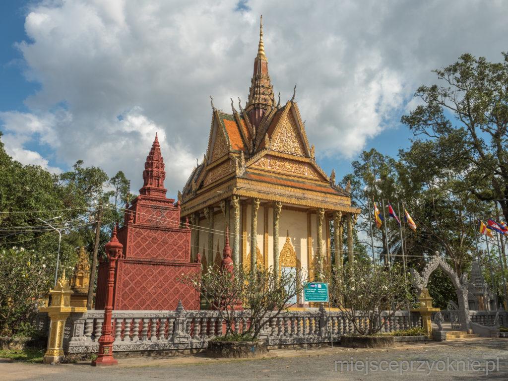 Świątynia buddyjska w Kampot