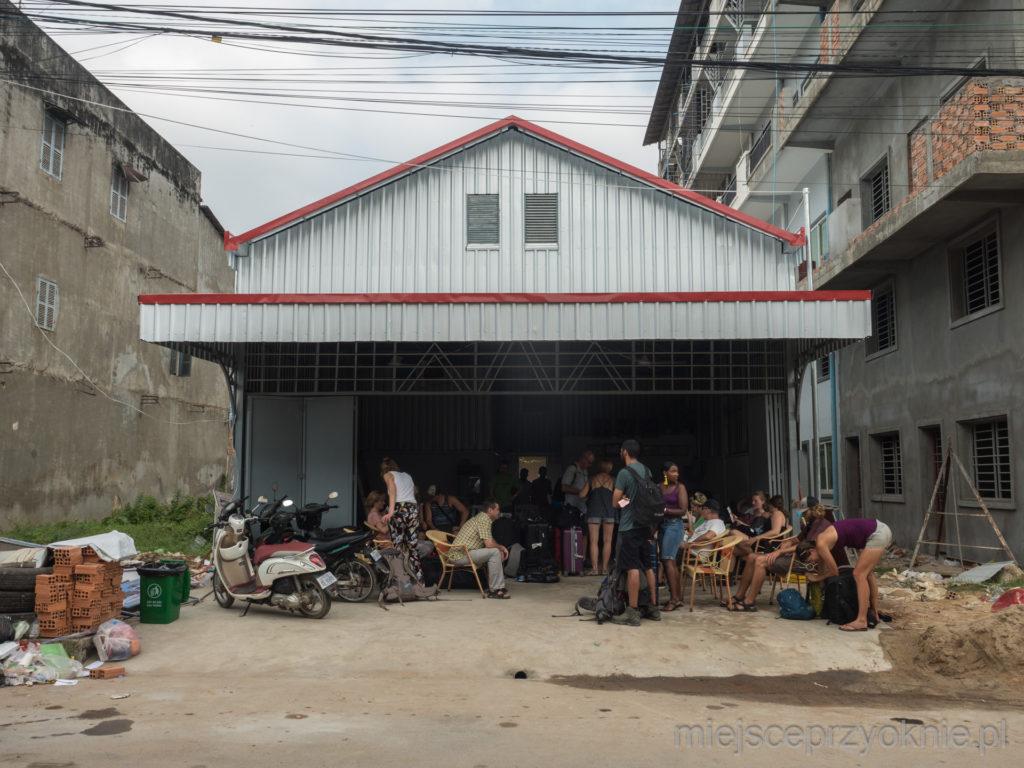 Biuro Champa Mekong Bus w Kampot