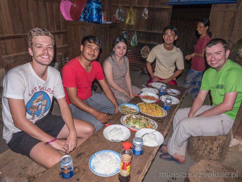 Ostatnia kolacja przed naszym wyjazdem