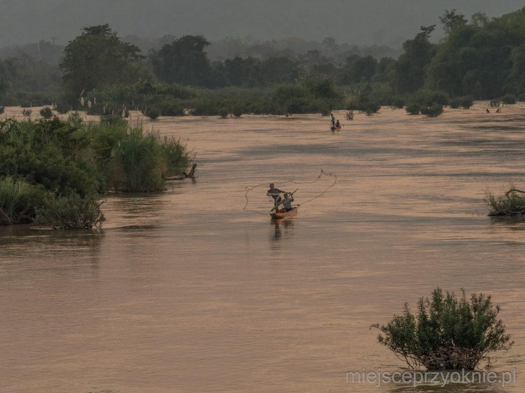 Rybacy na Mekongu