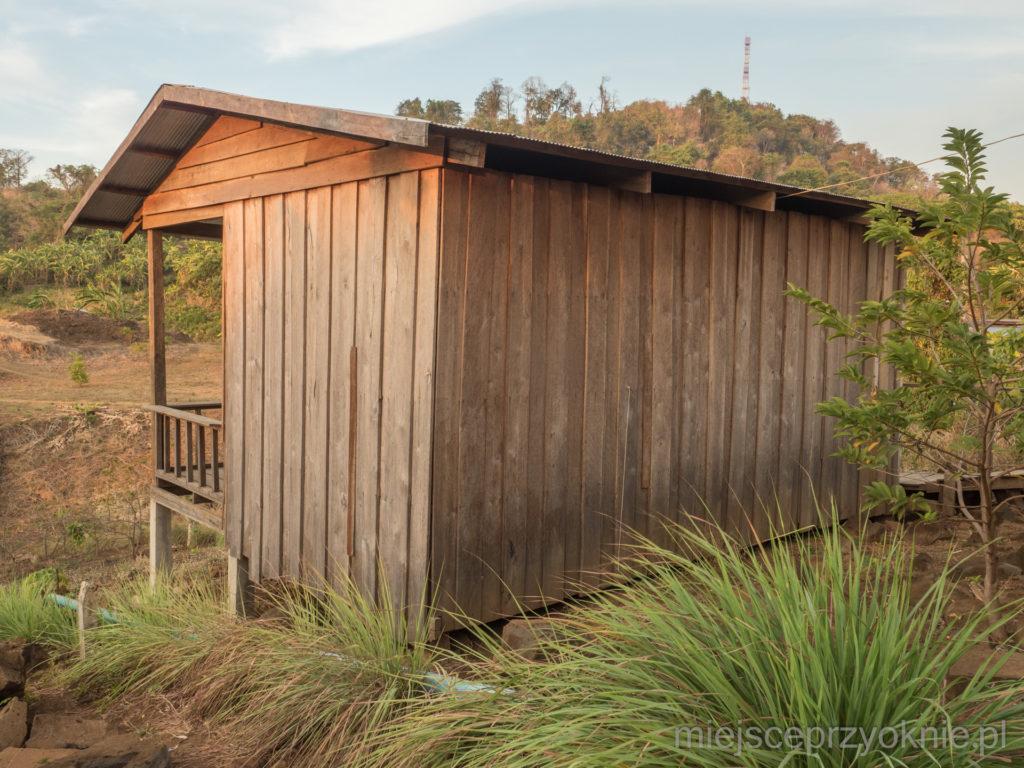 Drewniany bungalow