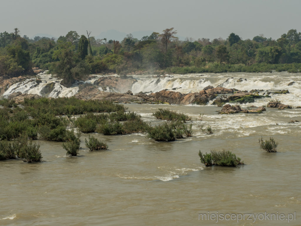 Wodospady Khone Papheng - pierwszy próg