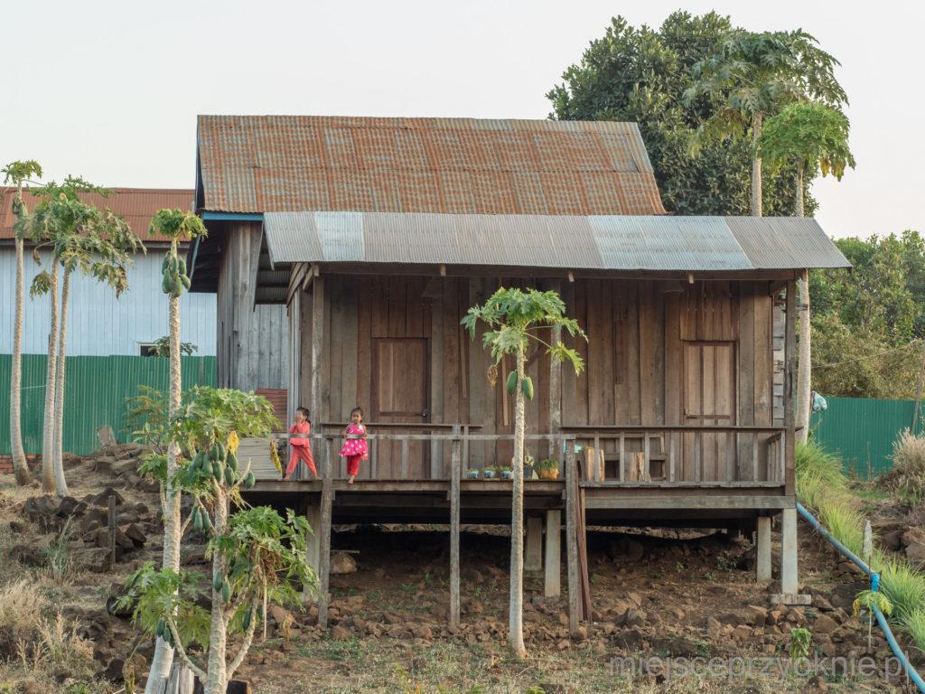 Nasz bungalow, widok z przodu