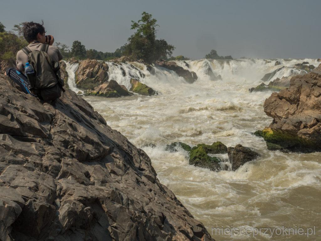 Wodospady Khone Papheng na wyciągnięcie ręki