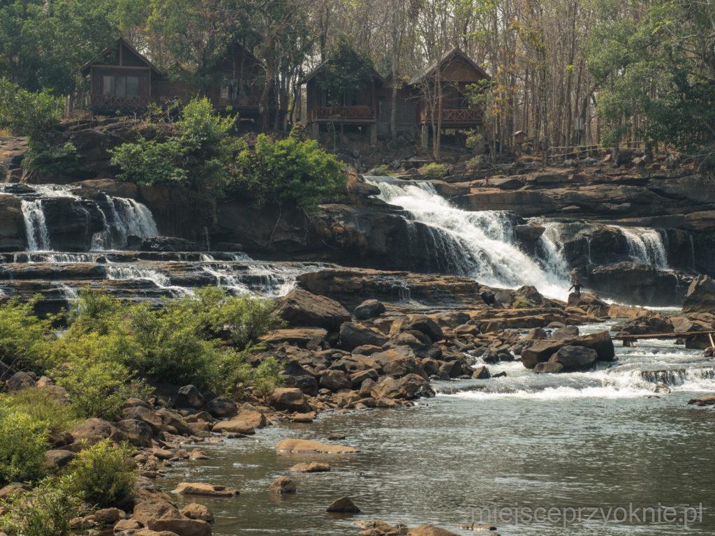 Wodospad Tad Hang - zbliżenie