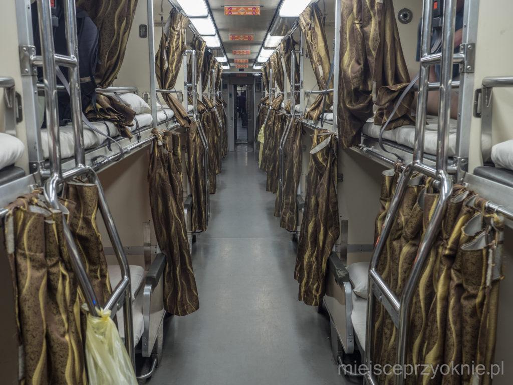 Wagon sypialny w Jungle Train