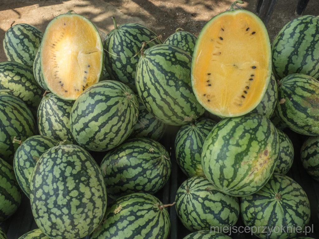 Żółte arbuzy