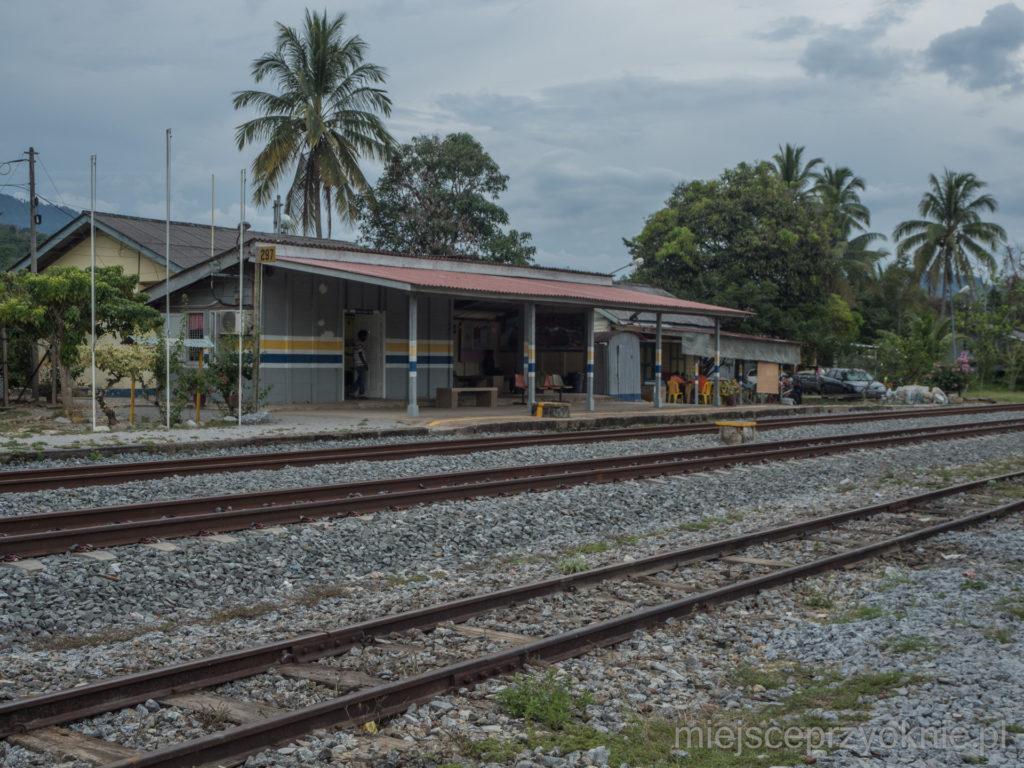 Stacja kolejowa w Merapoh