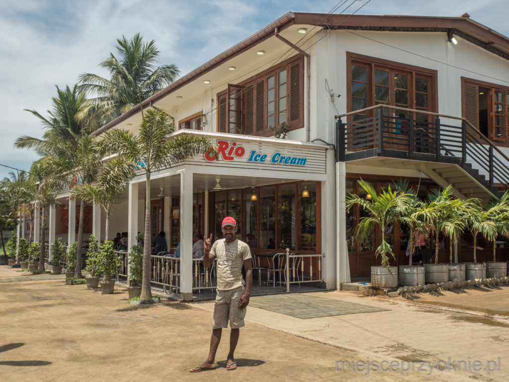 Lodziarnia Rio Ice Cream jest bardzo popularna wśród mieszkańców Dżafny