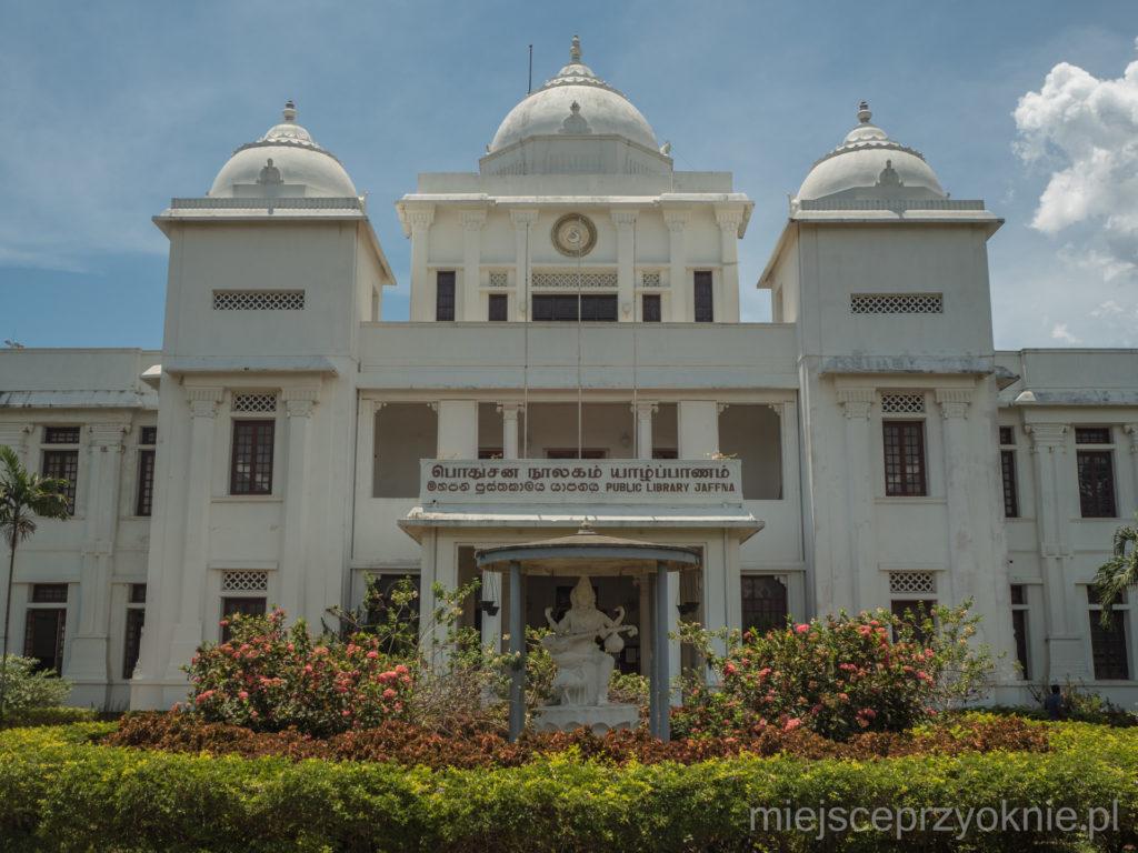 Biblioteka Publiczna w Dżafnie, w latach 80-tych jedna z największych bibliotek w Azji