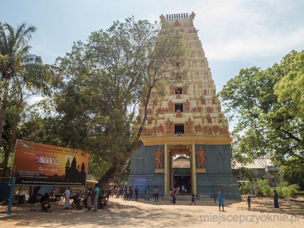 Świątynia hinduistyczna w Keerimalai
