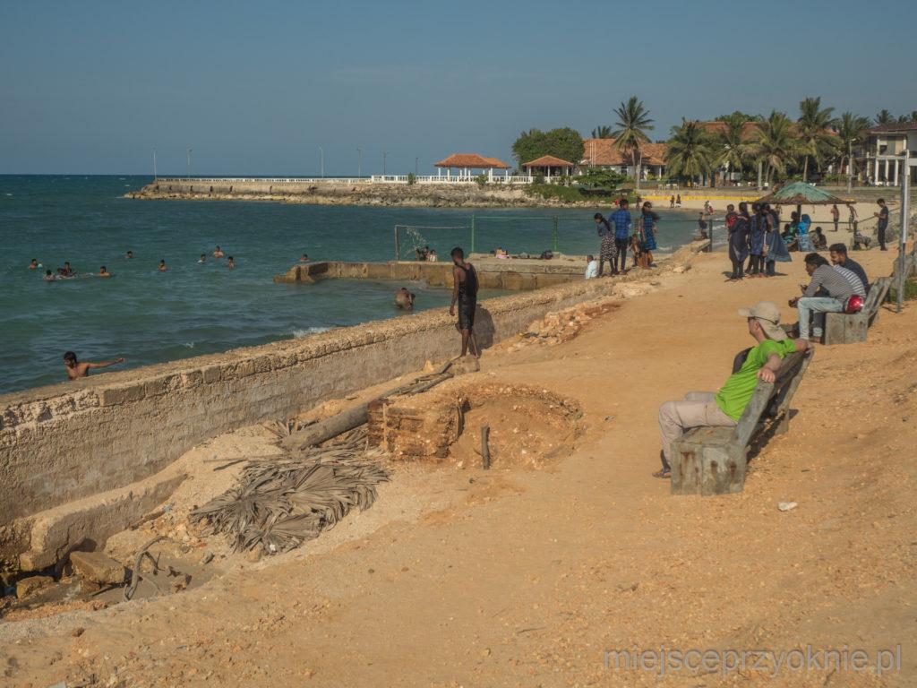 Plaża w Kankensanturai