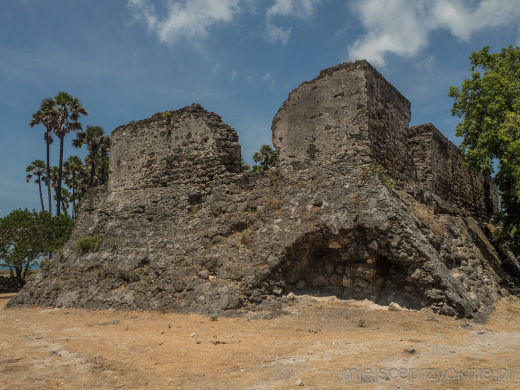 Ruiny holenderskiego fortu